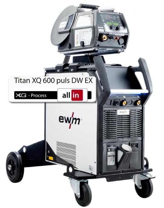 Titan XQ 600 puls DW EX welding machine